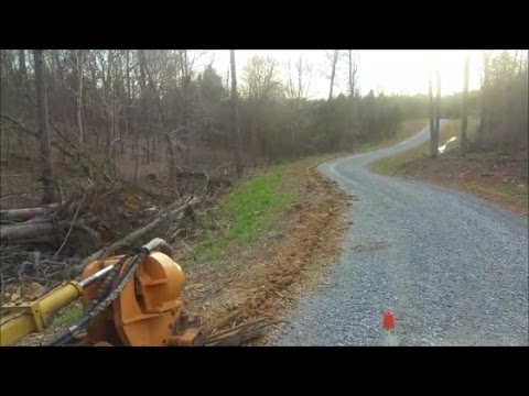 Installing a mile of fiber optic internet line to our Remote Country Home 04 11 17