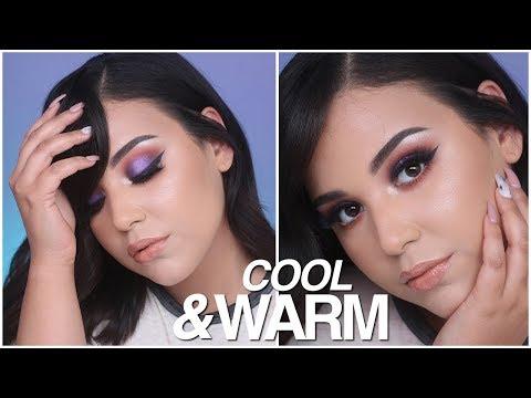 COOL & WARM TONE SUMMER MAKEUP TUTORIAL   MakeupByAmarie