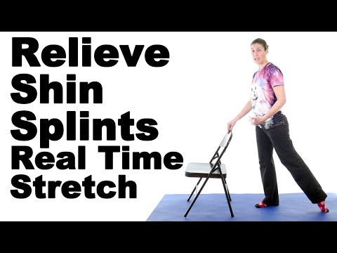 Relieve Shin Splints with This Real Time Anterior Tibialis Stretch - Ask Doctor Jo