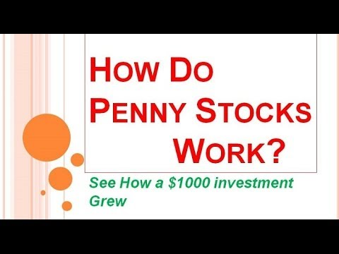 How Do Penny Stocks Work? | Want to Invest In Penny Stocks?