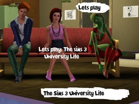 Lets Play: The Sims 3 University Life [Part 14] Forbidden Fruit Seed