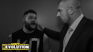 Kevin Owens meets with WWE medical staff and Triple H: NXT TakeOver: R Evolution, Dec. 11, 2014