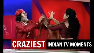 7 Craziest & Most Embarrassing Indian TV News Moments