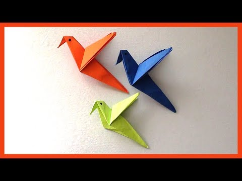DIY Easy Paper Birds Origami | Simple Paper Crafts for Kids & Beginners