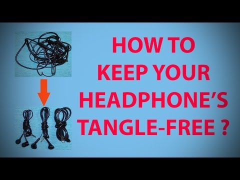 How to Keep Your Headphone's Tangle-free