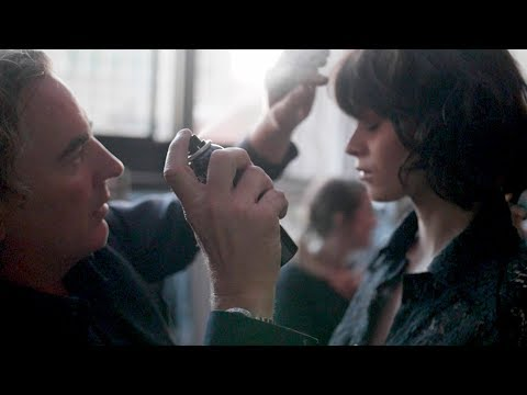 Backstage at NYFW with Rodney Cutler