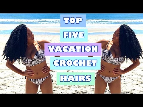 TOP 5 CROCHET HAIRS FOR SWIMMING AND VACATIONING⭐️| LIA LAVON