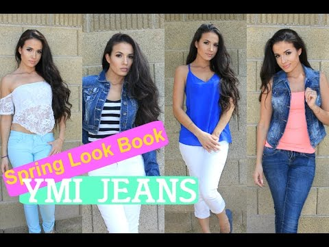 Spring Look Book |Jeans that make your butt look better AdriLunaMakeup