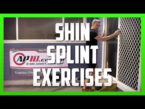 Three Exercises for Shin Splints (MTSS) in Runners