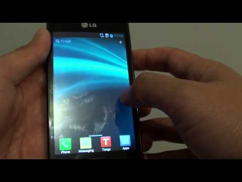 LG Optimus L7: How to Find Serial Number