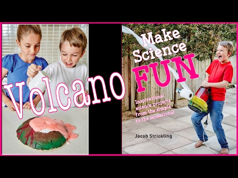 6. Dough Volcano | Make Science Fun the Book