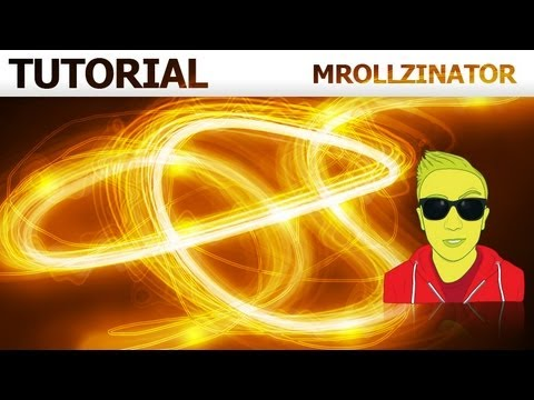 Glowing Lines Effect Photoshop - Tutorial HD
