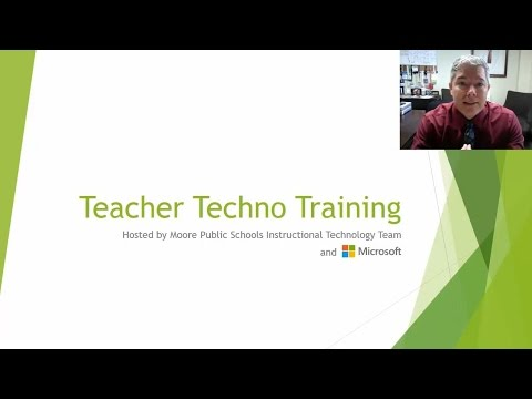 MPS Summer Teacher Tech Training 2017