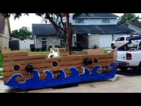 4th of July Float 2014 - Pirate Ship/Tea Party