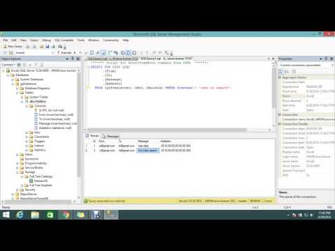 Create and Manage Full Text Indexes in MS SQL(2/2)
