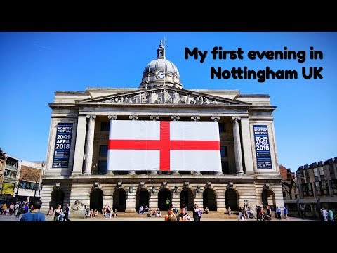 Nottingham UK - My 1st day | Travel with CM