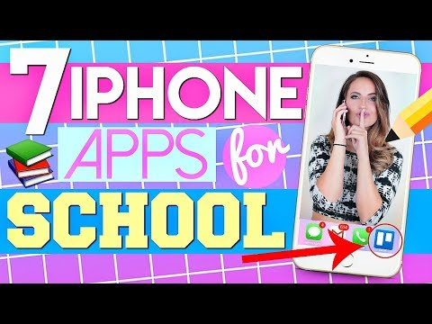 7 iPhone Apps For SCHOOL That Will CHANGE Your Life! (PART 2)
