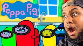 PEPPA PIG plays Among Us!
