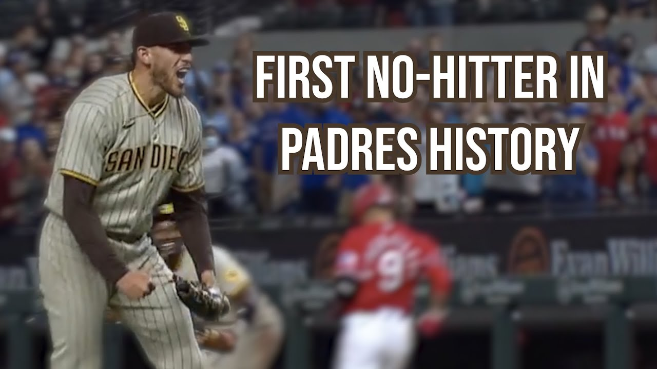 Joe Musgrove throws the first no-hitter in Padres history, a breakdown
