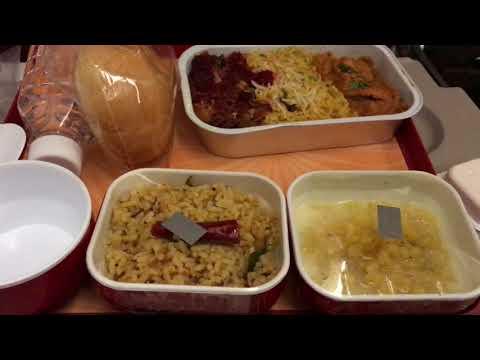 Chennai to Dubai through Air India / Meals / Terminal 1