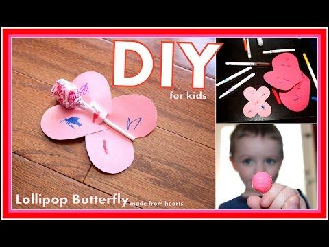 Butterfly Lollipop- Kids Craft