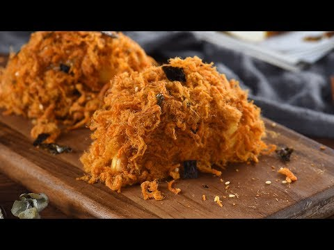 【巧厨烘焙/QiaoChuBaking】海苔肉松小贝/Pork floss roll