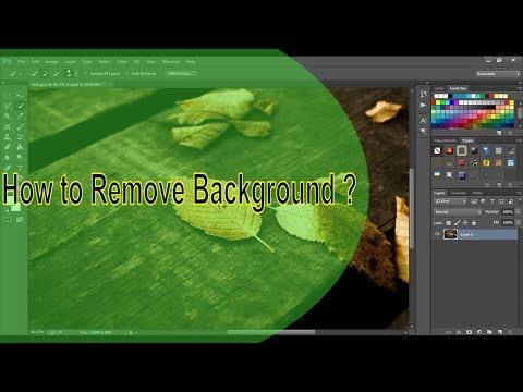 Remove Background: Using Photoshop CS6 Tutorial (2018)