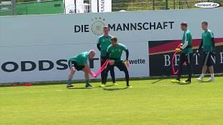 Torwarttraining der deutschen Nationalmannschaft in Südtirol - 28.05.2018