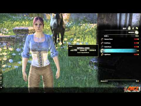 How to claim your Imperial Horse in The Elder Scrolls Online