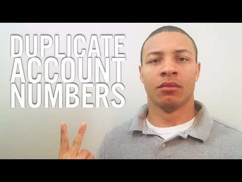 Credit Healing Q&A: What if I Have Duplicate Account Numbers?