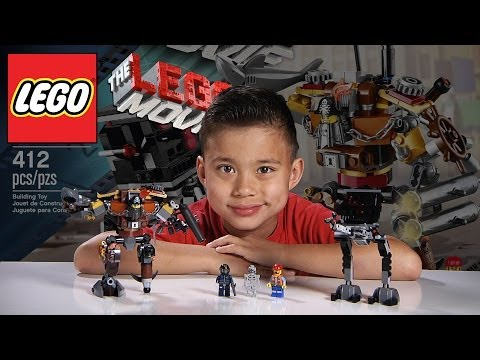 METALBEARD'S DUEL - LEGO MOVIE Set 70807 - Time-lapse Build, Unboxing & Review!