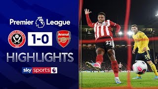 Mousset fires Blades to victory!   Sheffield United 1-0 Arsenal   Premier League Highlights