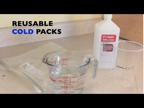 Reusable Cold Pack experiment