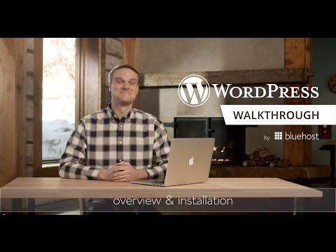 WordPress Walkthrough Series (1 of 10) - Overview & Installation