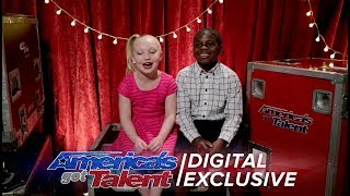 Kid Dancers Artyon and Paige Relive Their AGT Performance - America