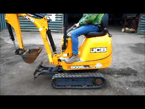 The Auctioneer Ltd  Machine Test Drive   JCB 8008CTS Micro Digger