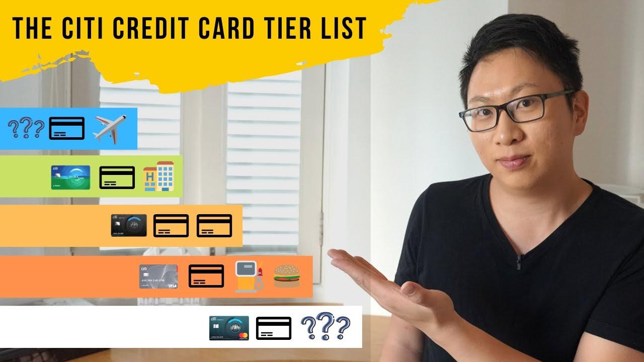 The Citi Credit Card Tier List ( Citi Prestige, Costco, Double Cash, AA Platinum)