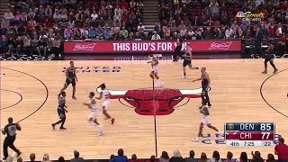 4th Quarter, One Box Video: Chicago Bulls vs. Denver Nuggets