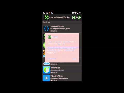 App- and GameKiller Pro - Android Root