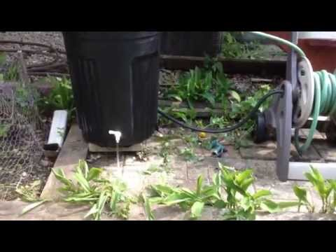 How To Make a Rain Barrel for Under $10 - CHEAP! :)