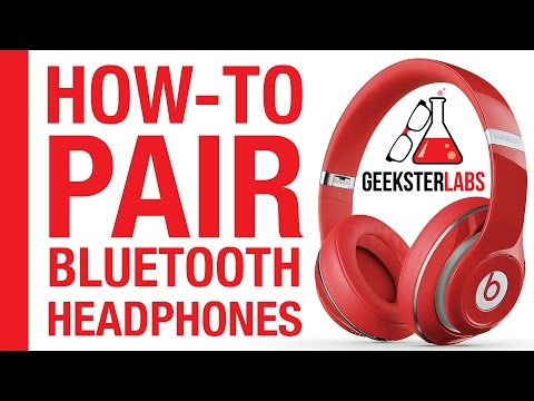 How-To Pair/Sync Bluetooth Headphones (Beats By Dre) on iPhone
