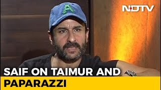 Saif Ali Khan On Paparazzi