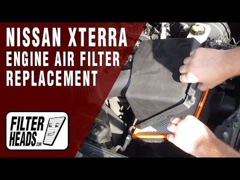 How to Replace Engine Air Filter 2007 Nissan Xterra V6 4.0L