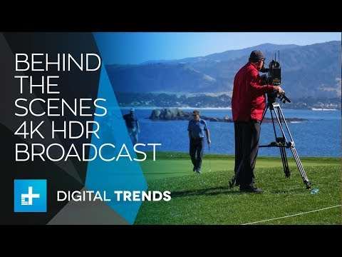 Behind the Scenes of DirecTV's 4K HDR Live Broadcast at The Pebble Beach Pro Am