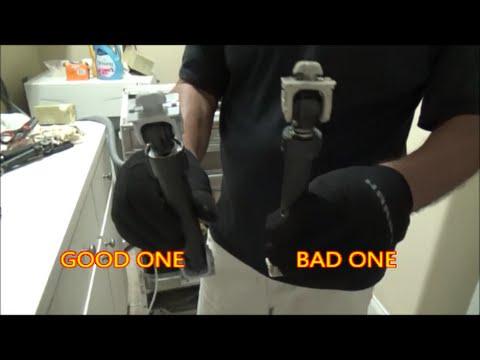 front load washer shocks... good or bad?