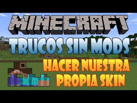 16# Como Hacer Nuestra Propia Skin Facilmente Con Skincraft | Minecraft 1.7.9 | Trucos Sin Mods