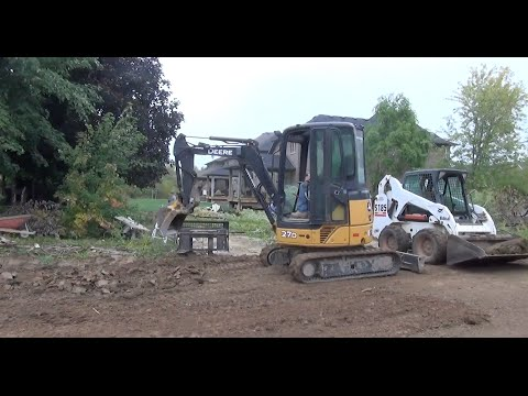 How To Build A House: Final Grading and Sodding Ep 68