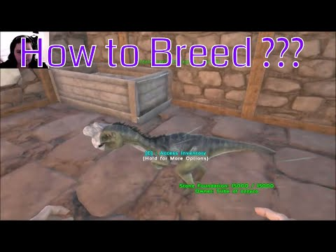 Ark - Oviraptor - How to Breed