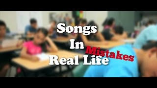 Mistakes Of Songs In Real Life Kids Style citrus Middle School Edition by Chris G Plays