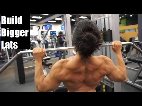 BUILD A BIGGER BACK: HOW To Properly Grow Your Lats (Ft. Alberto Nunez)